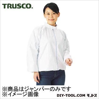 タイベック製保護服縦襟ジャンパー  L DPm202