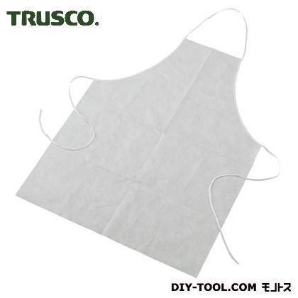 トラスコ 不織布エプロン   TPMK 1袋(10枚)