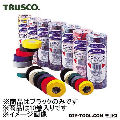 脱鉛タイプビニールテープ 黒  19mm×20m (GJ-2120)
