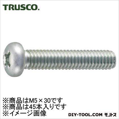 鍋小ねじ三価クロメート 白 M5×30 B7010530