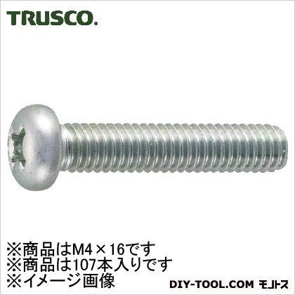 鍋小ねじ三価クロメート 白 M4×16 (B7010416)