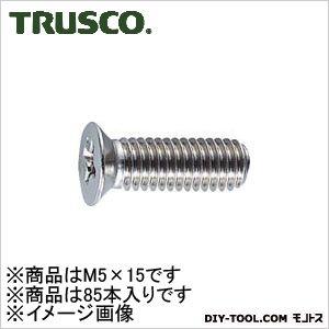 皿頭サッシュ小ネジステンレスサイズM5X1585本入   B65-0515 85 本