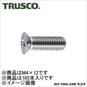 皿頭サッシュ小ネジステンレスサイズM4X12165本入   B65-0412 165 本