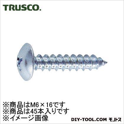 ユニクロームトラス頭タッピングねじ M6.0×16 (B420616)