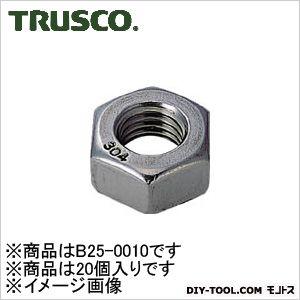 ステンレス六角ナット1種呼び径M10×1.5 20個入り   B250010 20 個
