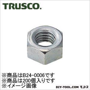 ユニクローム六角ナット1種  呼び径M6×1 B240006