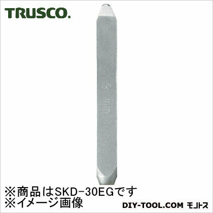 トラスコ バラ刻印G(アルファベット)  3mm SKD30EG