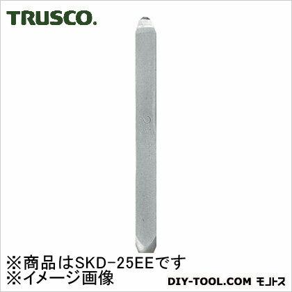 トラスコ バラ刻印E(アルファベット)  2.5mm SKD25EE