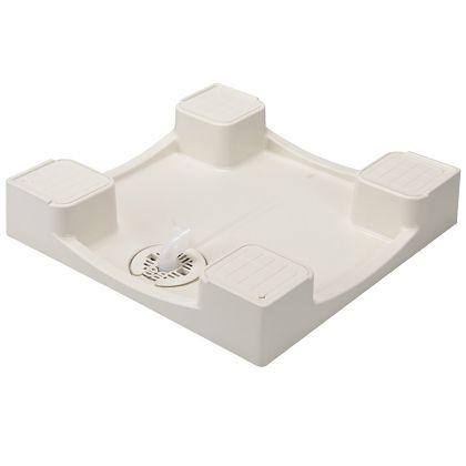 テクノテック かさ上げ防水パン イージーパン アイボリーホワイト W640×D640×H120mm TPD640 1 台