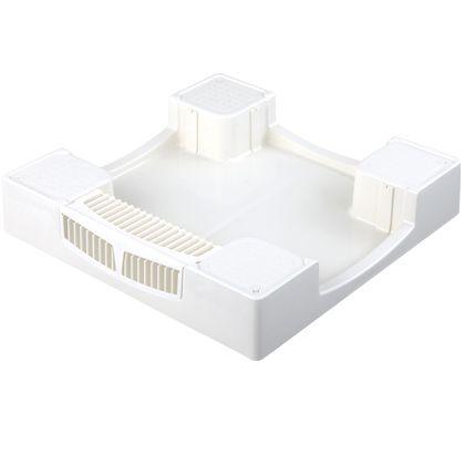 テクノテック かさ上げ防水パン セーフガードパン(ガードなし) ニューホワイト W640×D640×H120mm TPW640 1 台