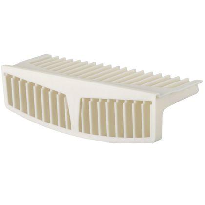 テクノテック かさ上げ防水パン セーフガードパン TPWシリーズ専用ガード(1個) アイボリーホワイト W311×D102.5×H85.5mm TPWガード 1 台