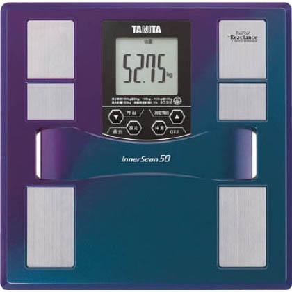 【送料無料】タニタ TANITA体組成計インナースキャン50BC‐310‐BL オーロラブルー  BC-310-BL  デジタルはかりはかり
