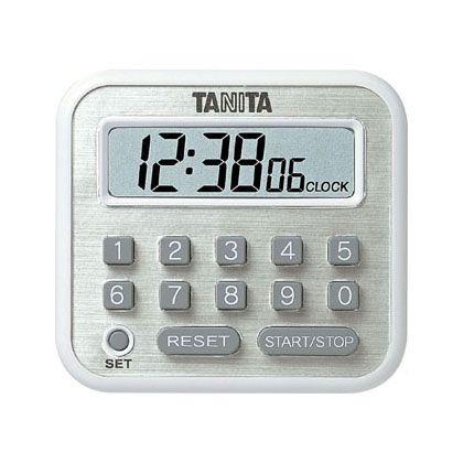 タニタ デジタルタイマー 長時間タイマー   TD-375WH