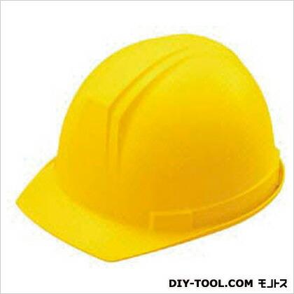 谷沢製作所 ABS製ヘルメット(前ひさし・溝付型)EPA付 黄 0169-FZ-Y   0169FZY