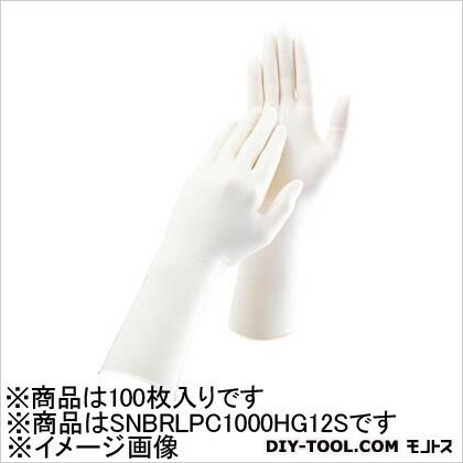 ソフトニトリルクリーン手袋 Sサイズ (100枚×1袋)   SNBRLPC1000HG12S 100 枚