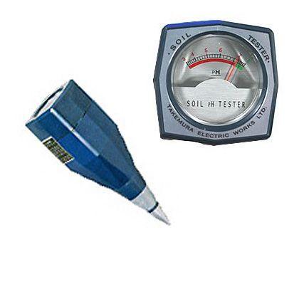竹村電機製作所 土壌酸度測定器 ph計(起電式土壌酸度計 ) (DM-13)
