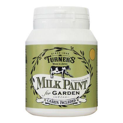 【新商品】 ミルクペイントforガーデン ミモザイエロー 200ml MKG20339