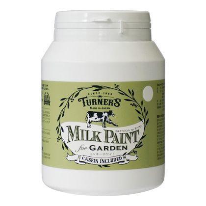 【新商品】 ミルクペイントforガーデン ミルキーホワイト 450ml MKG45301