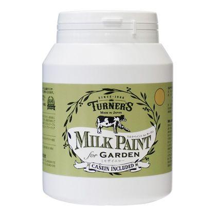 【新商品】 ミルクペイントforガーデン ミモザイエロー 450ml MKG45339