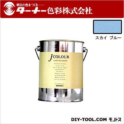 室内/壁紙塗料(水性塗料)Jカラー スカイブルー 2L JC20BD2D