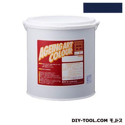 エイジングアートカラー屋内外特殊塗装用水性塗料 低臭フタロブルー 20kg SJB20372