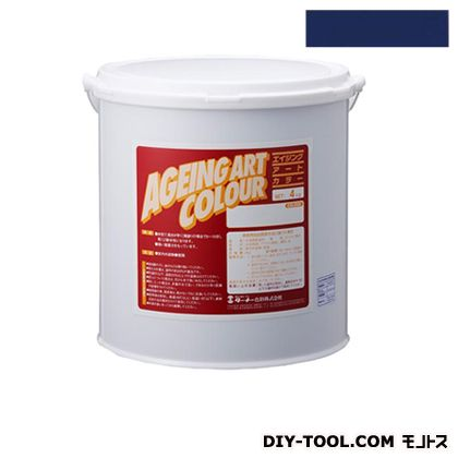 エイジングアートカラー屋内外特殊塗装用水性塗料 低臭ウルトラマリンブルー 20kg SJB20373