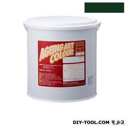 エイジングアートカラー屋内外特殊塗装用水性塗料 低臭ミディアムグリーン 20kg SJB20374