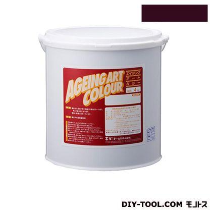 エイジングアートカラー屋内外特殊塗装用水性塗料 低臭マゼンタ 20kg SJB20376