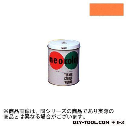 ターナー色彩 ネオカラー 短期屋外用絵具 オレンジ 3L NC00324