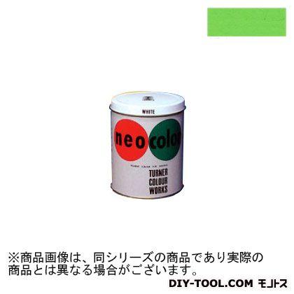 ターナー色彩 ネオカラー 短期屋外用絵具 黄緑 600ml NC60004
