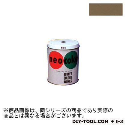 ターナー色彩 ネオカラー 短期屋外用絵具 アンバー 600ml NC60010