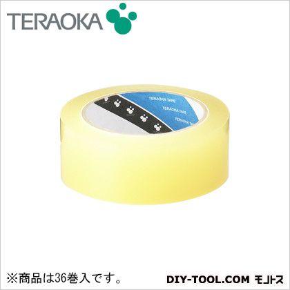 ビニールテープ 透明つや消し 50mm×30m No.312 36 巻