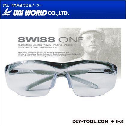 ユニワールド SWISS ONE ケイマン クリア/ブラック  SO-001