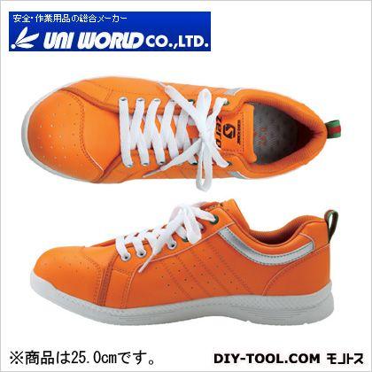 S-ZERO セーフティシューズ オレンジ 25.0cm SZ-003
