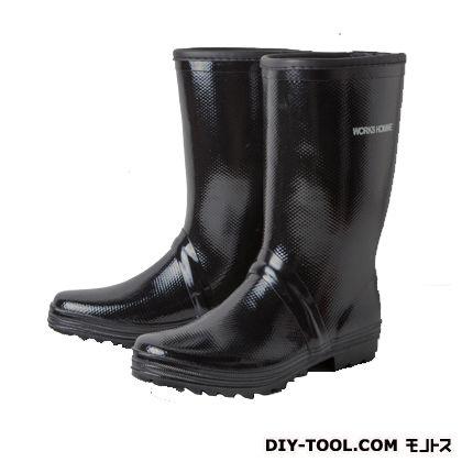 サンドイッチゴム長靴 ラスターブラック 27.0cm WH-600