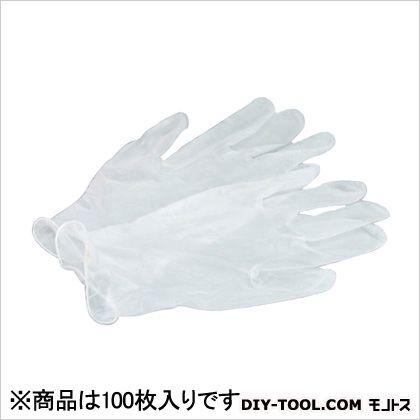 ビニール手袋(P・F) L 100枚