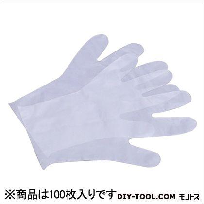ポリエチ手袋  M  100 枚