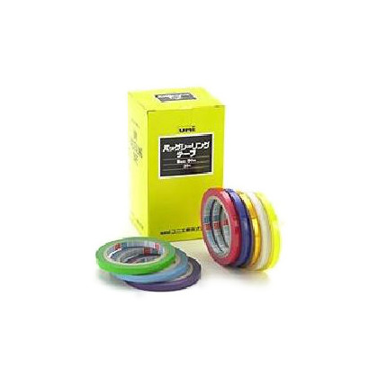 バッグシーリングテープ 黄 9mm×50m