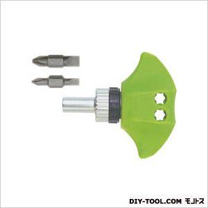 パワーラチェットドライバー 緑 全長:77.5mm TD-81G