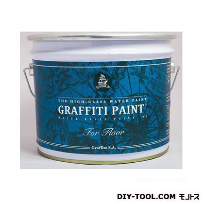 【送料無料】ビビットヴアン グラフィティーペイント フロア 床用水性塗料 Rose Bud 10L GFF-15  水性塗料塗料