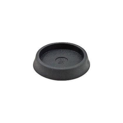 和気産業 イスゴム(椅子の足ゴム) 平置 黒丸GK-171 40MM   40501455