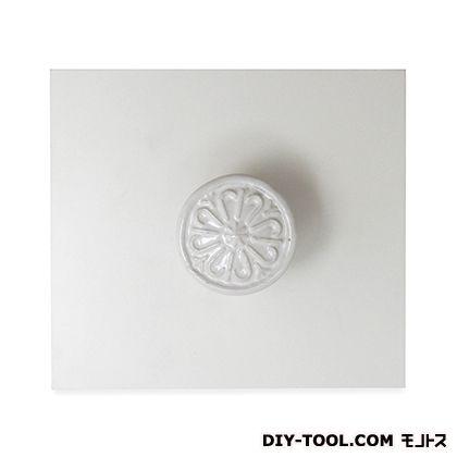 セラミックつまみ ホワイト W37XD33(mm) IK-143