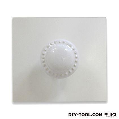 セラミックつまみ ホワイト W40XD30(mm) IK-145