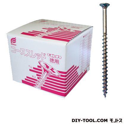 コーススレッド(赤箱) 徳用箱 全ネジ ユニクロメッキ 41mm  1400 本