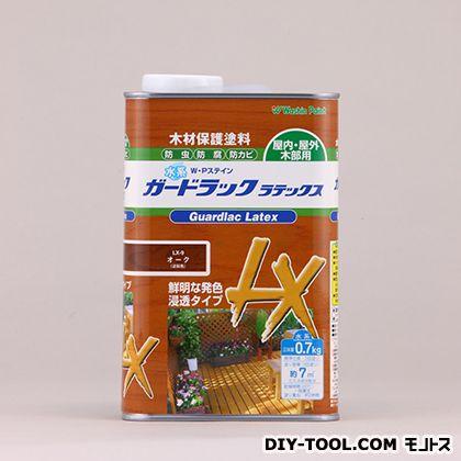 水性ガードラックラテックス 木材保護塗料(防虫・防腐・防カビ効果) オーク 0.7kg LX-9