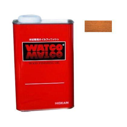 ワトコオイル 浸透性木材用塗料 ミディアムウォルナット 1L W-12