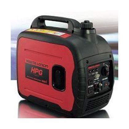 インバーター発電機 レッド・ブラック 全長×全幅×全高(mm)499×285×455 HPG1600i