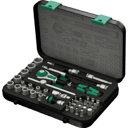 8100SA2 サイクロップラチェットセット 1/4   003533