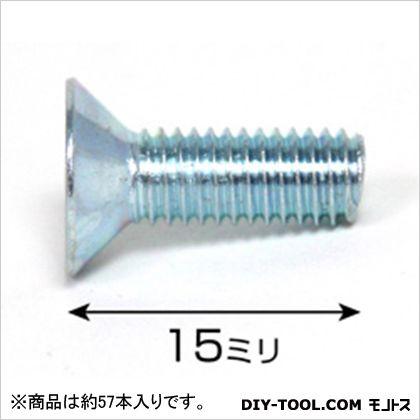 ユニクロ皿小ネジ ISO  5×15 75526 1袋(約57本)