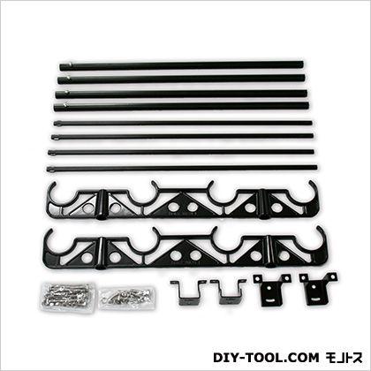 天井付型物干金具 DRYWAVE HA50-THC ブラック (00096459)